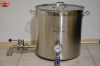 B-Ware Braukessel 70 Liter mit Abmaischventil